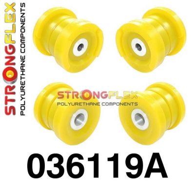 036119A: Zadná nápravnica - sada silentblokov SPORT