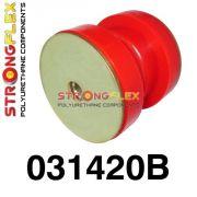 031420B: Silentblok prednej spodnej spojovacej tyče 58mm