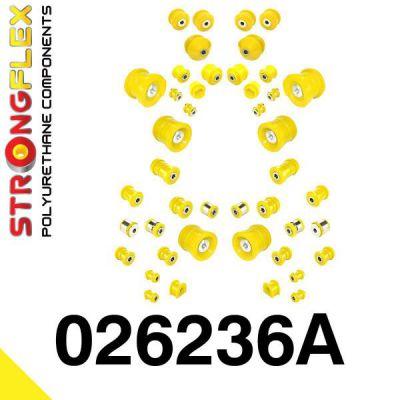 026236A: Kompletná sada silentblokov pruženia SPORT