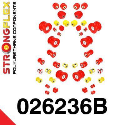 026236B: Kompletná sada silentblokov pruženia