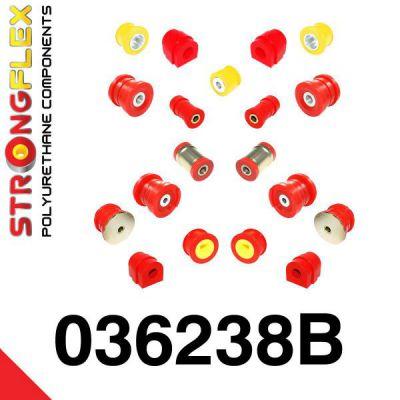 036238B: Kompletná sada silentblokov pruženia BMW E46 M3