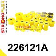 226121A: Kompletná sada silentblokov silentblokov SPORT
